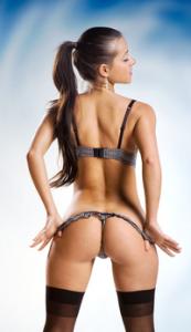 Sexy Topless Gogo Tänzerin NRW